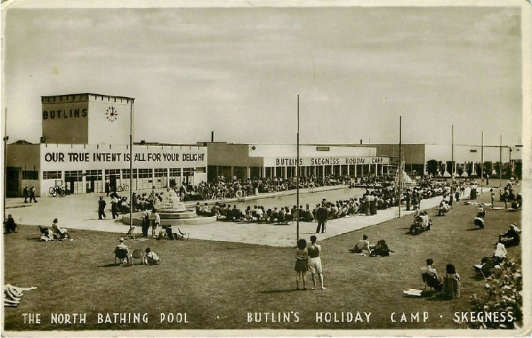The North Bathing Pool - Butlin's Holiday Camp - Skegness