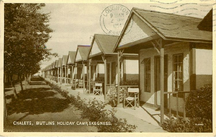 Chalets, Butlins Holiday Camp, Skegness