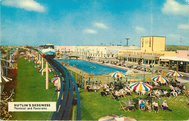 Butlin's Skegness - Monorail and Panorama
