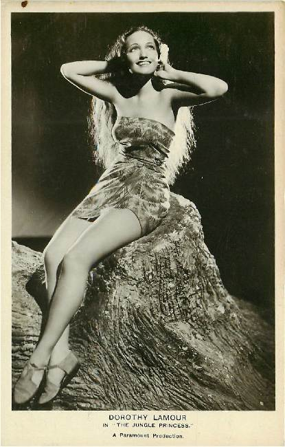 "Dorothy Lamour in ""Jungle Princess"" No. FS 116"