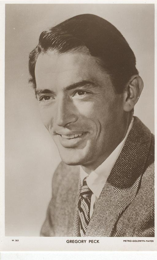 Gregory Peck Postcard