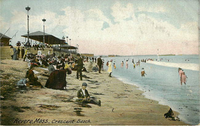 Revere Mass Crescent Beach
