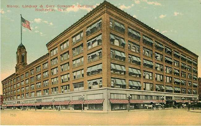 Sibley Lindsay & Curr Company Building Rochester N Y