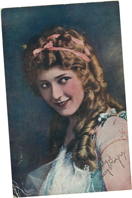Mary Pickford Postcard