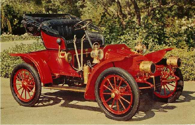 1906 Autocar Roadster Classic Car Postcard