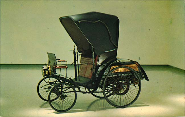 "1897 BENZ ""Comfortable"" Postcard"