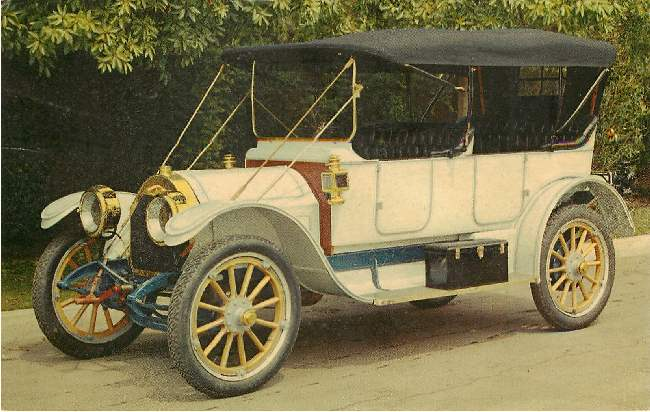 "1912 Apperson ""Jack-Rabbit"" Classic Car Postcard"