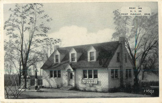 Point Inn US.52 Point Pleasant, OH US Grant Birthplace Postcard
