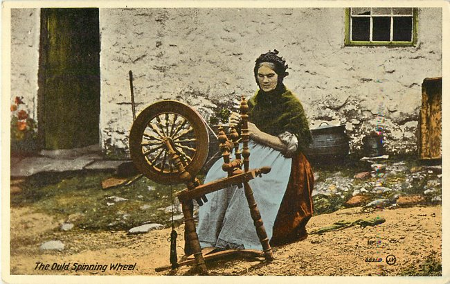 The Ould Spinning wheel