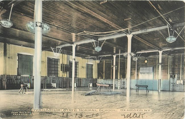 Gymnasium-State Normal School, Geneseo, NY