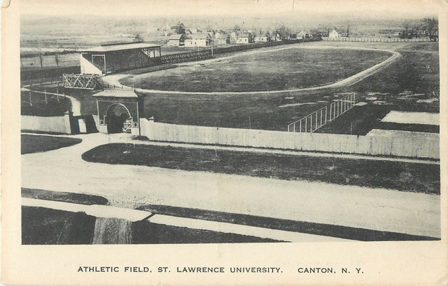 Athletic field St.Lawrence University, Canton, NY