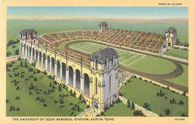 University of Texas Memorial Stadium, Austin, Texas