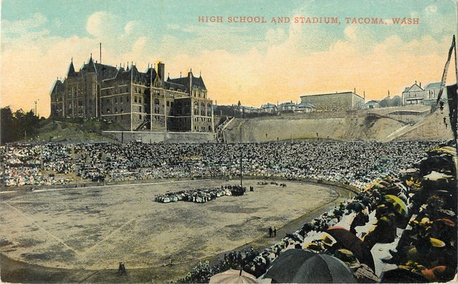 High School and Stadium, Tacoma, Wash