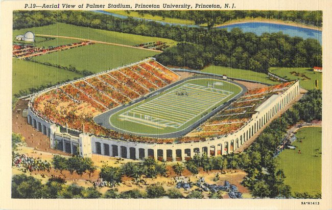 Aerial View of Palmer Stadium, Princeton University (copy 3)