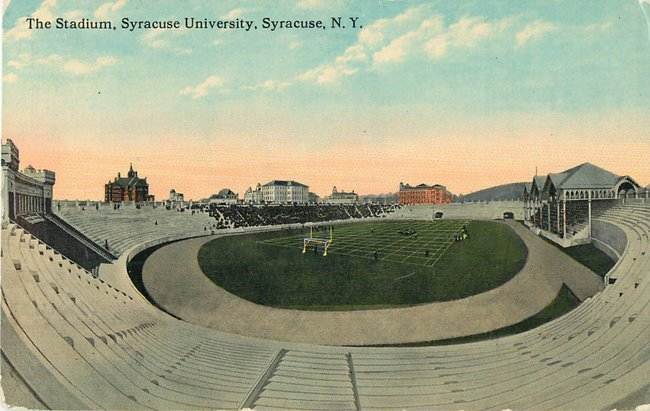 The Stadium, Syracuse University, Syracuse NY