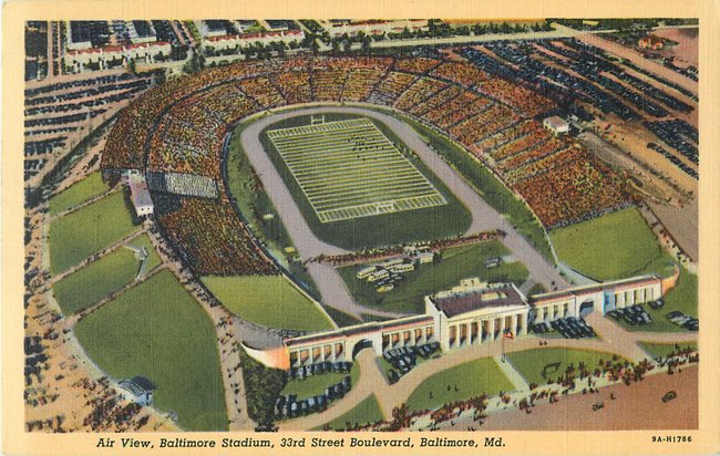 Air View, Baltimore Stadium, 33rd St Boulevard, MD (copy 3)