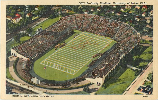 Skelly Stadium, University of Tulsa Okla