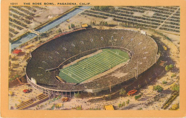 The Rose Bowl. Pasadena, Calif.