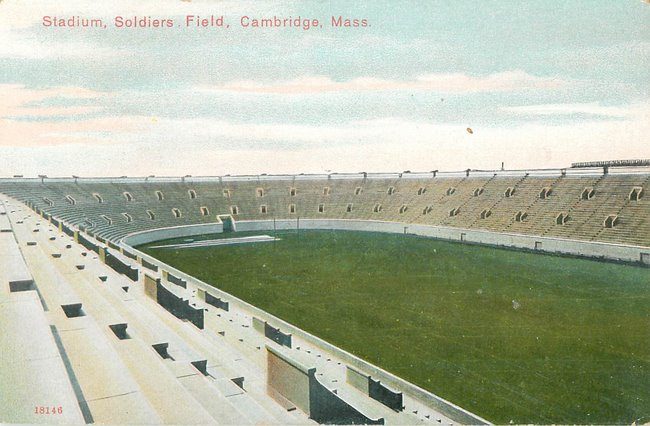 Stadium, Soldiers Field, Cambridge, Mass. (copy 1)