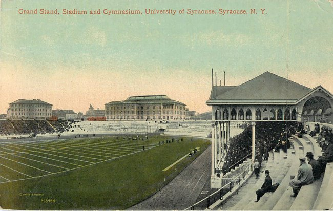 Grand Stand, Stadium and Gymnasium, University of Syracuse