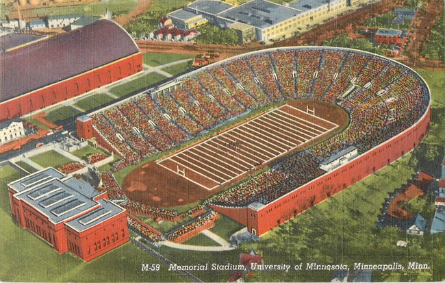 Memorial Stadium, University of Minnesota, Minneapolis (copy 2)