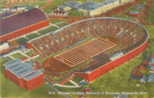 Memorial Stadium, University of Minnesota, Minneapolis (copy 3)