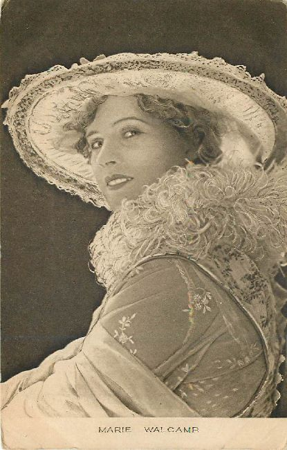 Beautiful Marie Walcamp Postcard