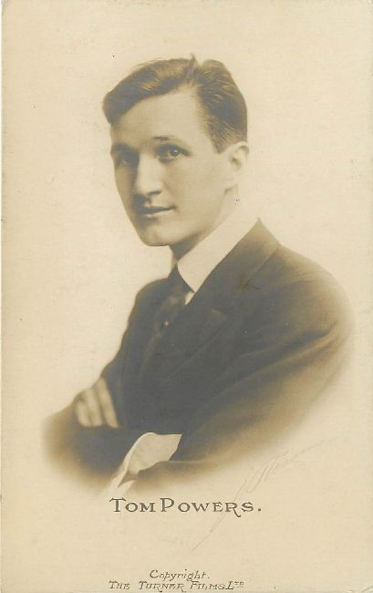 Edwardian Actor Tom Powers Postcard
