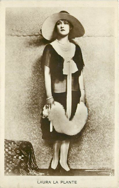 Laura La Plante Edwardian Actress Postcard