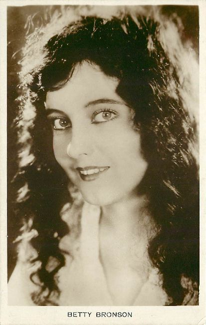 Beautiful Brunette Betty Bronson Actress Postcard