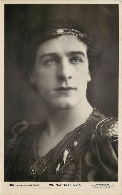 2391 Mr. Matheson Lang Edwardian Actor Postcard