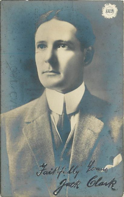"Jack Clark ""The Pictures"" Edwardian Actor Postcard"