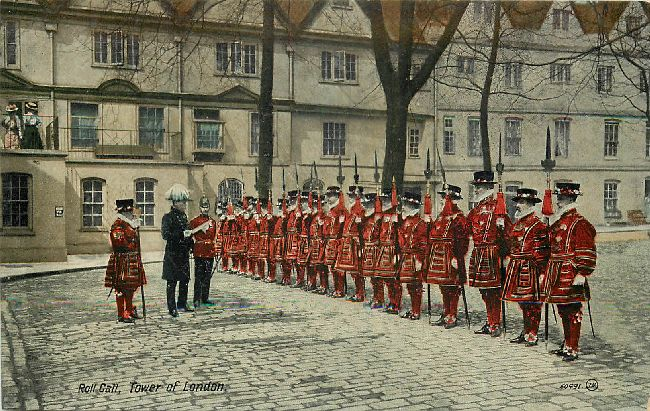 Roll Call, Tower of London