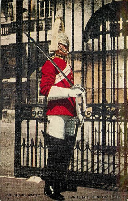 Life Guard Sentry, Whitehall, London