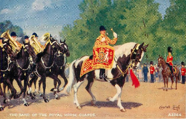 The Band of the Royal Horse Guards.