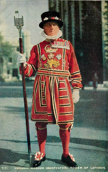 Yeoman Warder (Beefeater), Tower of London