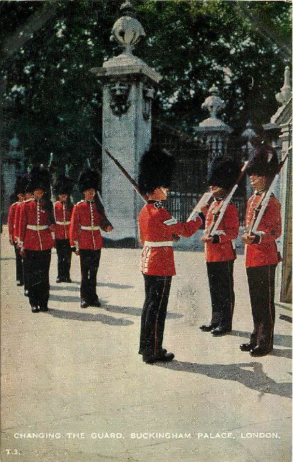 Changing the Guard, Buckingham Palace, London