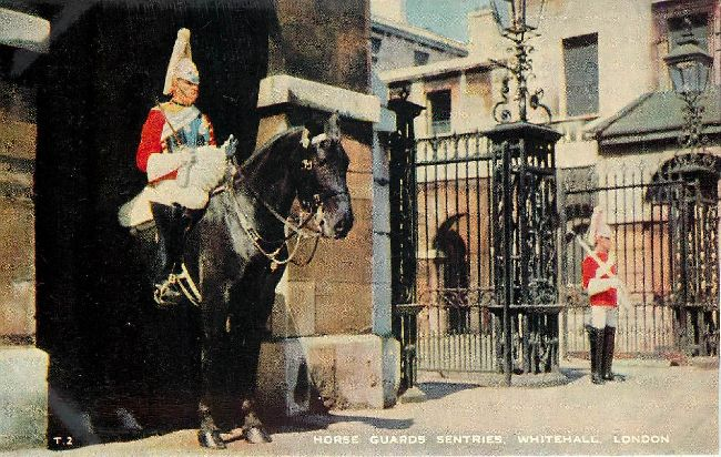 Horse Guards Sentries, Whitehall, London