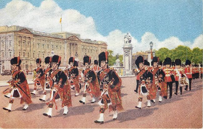 The Scots Guards Pipers