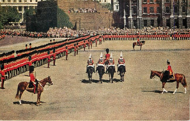 Trooping the Colour, Horse Guards Parade