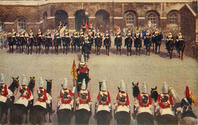 Changing of the Guard at the Horse Guards