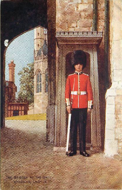 The Sentry at the Gate - Windsor Castle