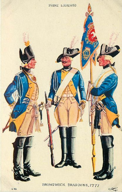Brunswick Dragoons, 1777