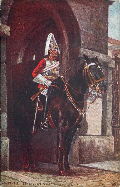 "Whitehall, ""Sentry on Guard"""
