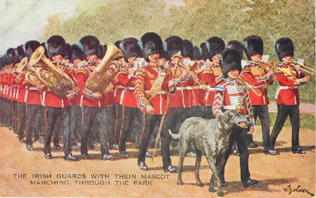 Irish Guards - Signed