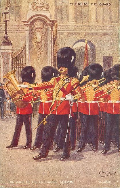 The Band of the Grenadier Guards - Signed by Conrad Leigh