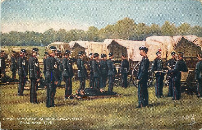 Royal Army Medical Corps, Volunteers, Ambulance Drill