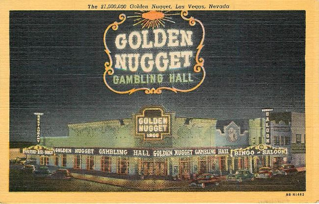 The $1,000,000 Golden Nugget, Las Vegas, Nevada