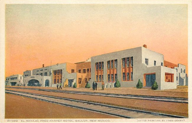 Fred Harvey Hotel, Gallup, New Mexico