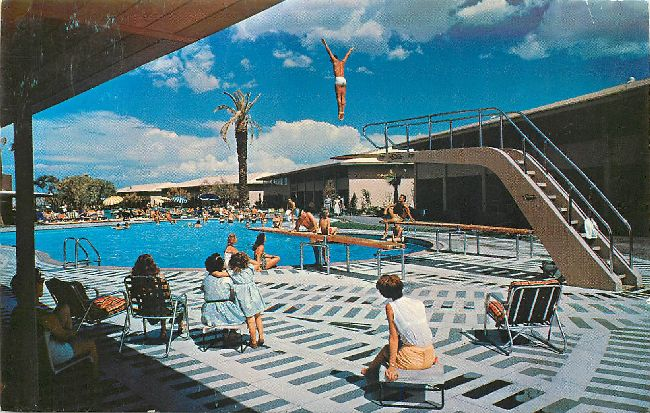 """A Place in the Sun"", The Sands, Las Vegas, Nevada Postcard"